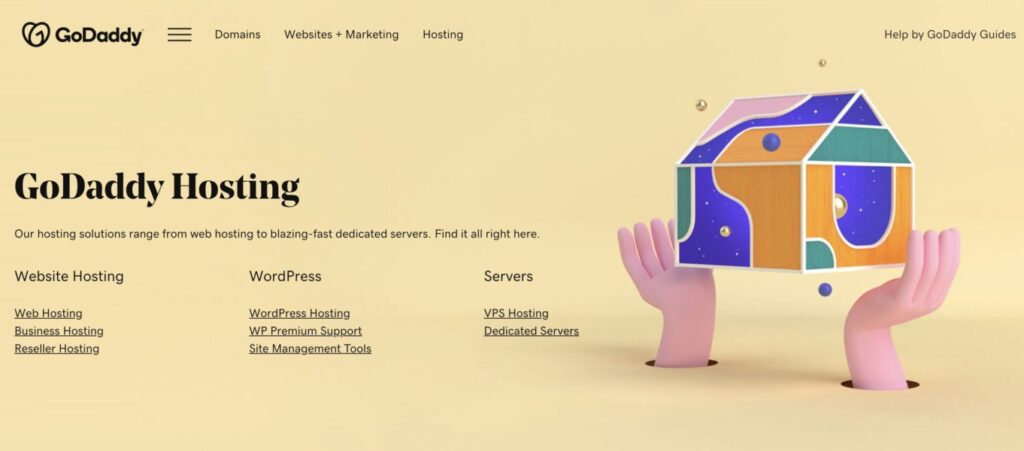 GoDaddy review - best shared web hosting