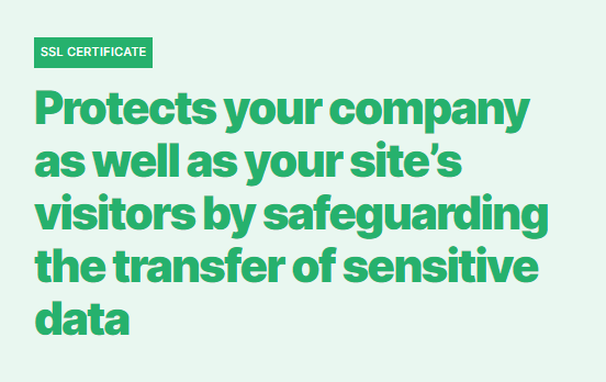 How much does a website cost? ssl