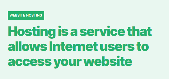 How much does a website cost?web hosting